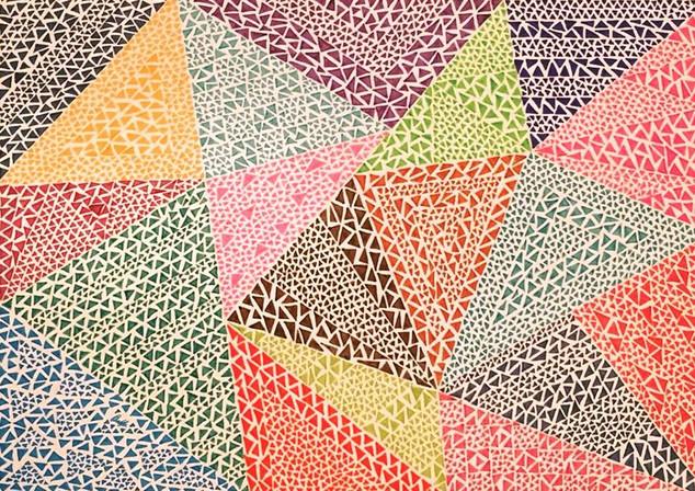 Triangles in Colour