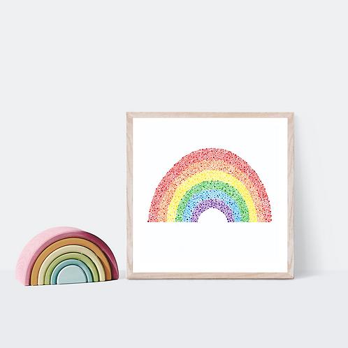 Light Rainbow Print