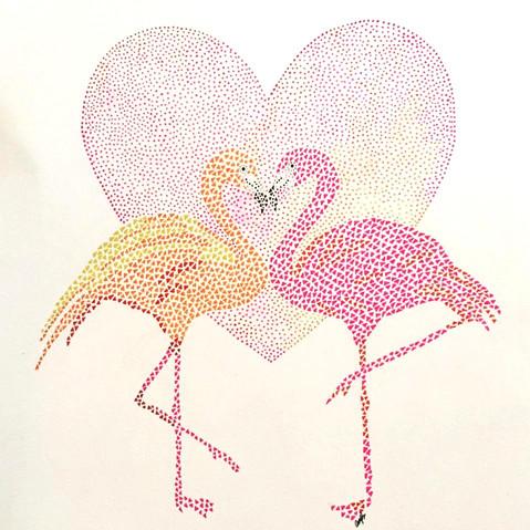 Love amongst Flamingos