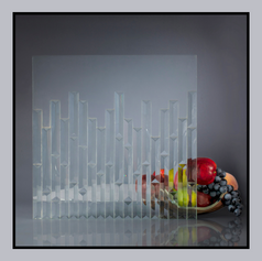 Random Design with Fused Glass