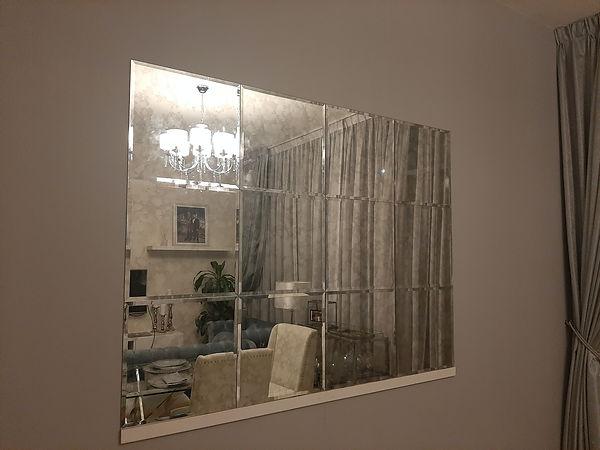 Antique Mirror Wall Cladding