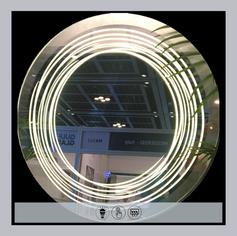 LED Circular Mirror