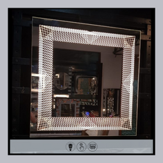 LED Rectangular Mirror