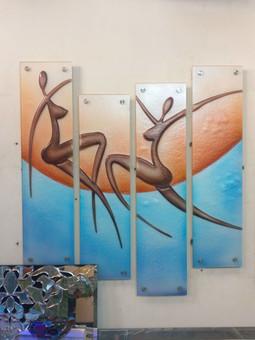 Wall Art in Glass
