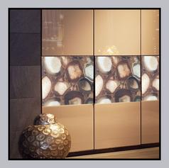 Digital print Laminate Wardrobe Panels