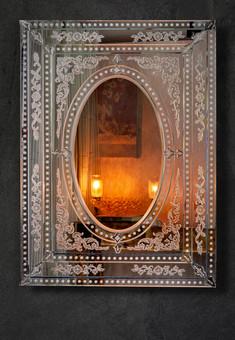 Simple Venetian Mirror