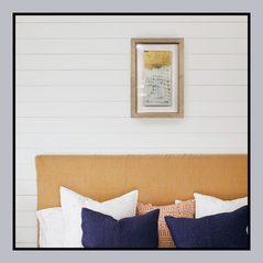 Modern Wall Art with Leafing