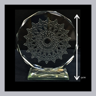 Sand blasted (etched) pattern Table-Top
