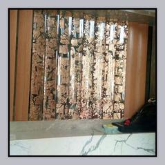 Gold Leaf Room Partition