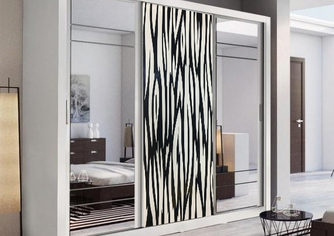 Back Painted Wardrobe Panel