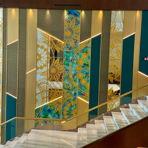 Staircase Wall Cladding
