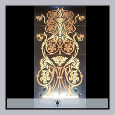 LED Rectangular Mirror Column