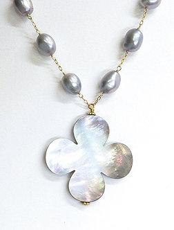 Clover Drop Necklace