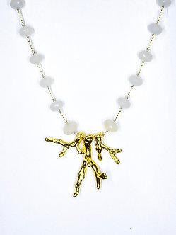 Three Coral Necklace