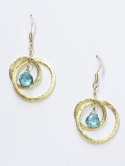 Small Two Hoop Earrings
