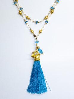 Silk Tassel Necklaces