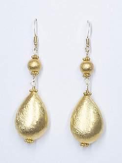 Gold Vermeil Short Drop Earrings