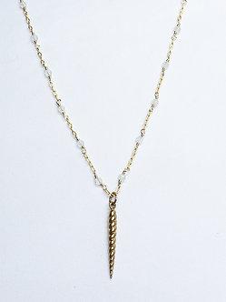Unicorn Horn Charm Necklace
