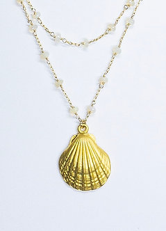 Scallop Shell Necklaces