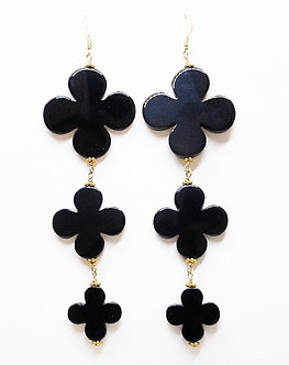 Clover Three Drop Stack Earrings