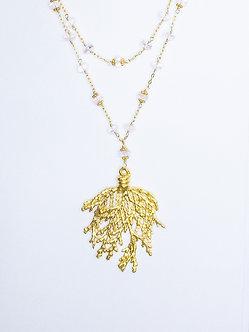 Sea Fan Pendant Necklaces