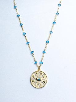 Lucky Charm Medallion Necklace