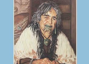 Te Kuia Moko (The last Tatooed Maori Women) by Harry Sangl