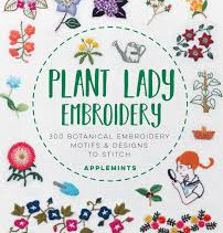Plant Lady Embroidery by Applemints