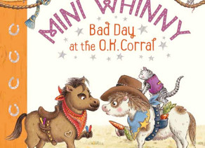 Mini Whinny: Bad Day at the O.K. Corral by Stacy Gregg, illustrated by Ruth Paul