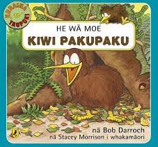 He Wā Moe Kiwi Pakupaku by Bob Darroch, nā Stacey Morrison i whakamāori