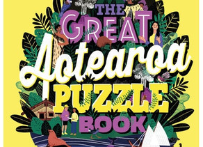 The Great Aotearoa Puzzle Book by Barbara Telfer