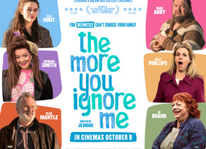 WIN* one of five double movie passes for The More You Ignore Me