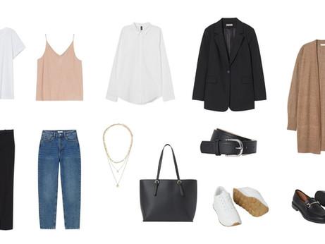 7 ubrań - 10 stylizacji. Zbuduj swoją kapsułową garderobę bez wydawania fortuny