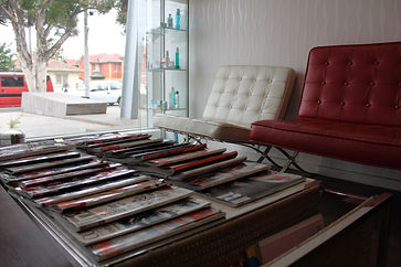 Dental Clinic Waiting Room With Magazines On Table