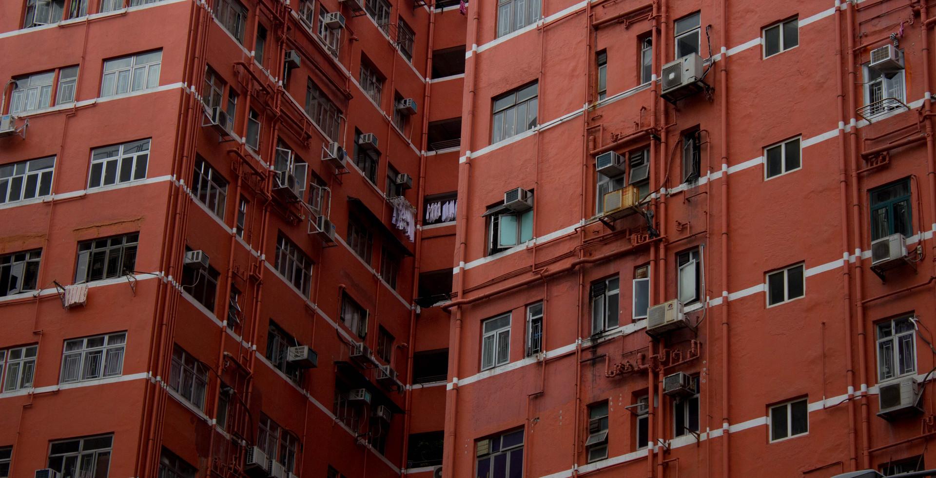 Color Study #3, Hong Kong, 2018