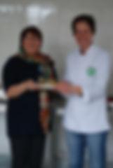 Wendy Davies chef végétarienne