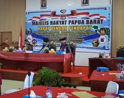RDP II MRPB, 2 Wilayah Adat Tolak Otsus, minta Referendum