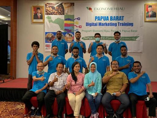 26 Anak Papua Mengikuti Kegiatan Digital Marketing