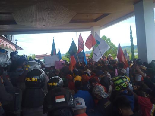 DPRD Kab. Manokwari & Cipayung Plus Tolak RUU Omnibus