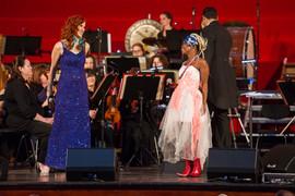 Zolani Mahola & Magdalene Minnaar
