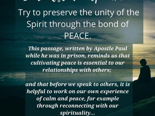 Nourishing Bonds of Peace