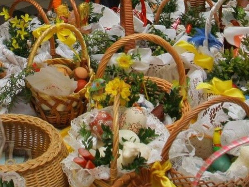 Easter Blog: What's in my Easter Basket—Best Wishes and Traditions