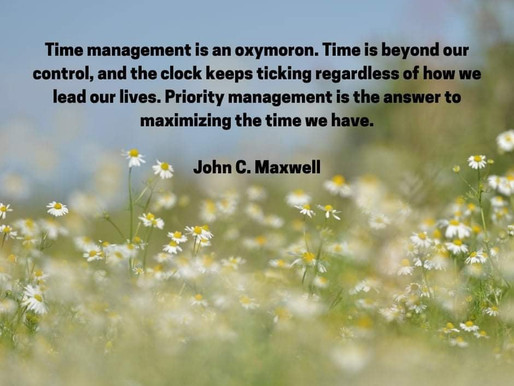 Personal Power and Time Management