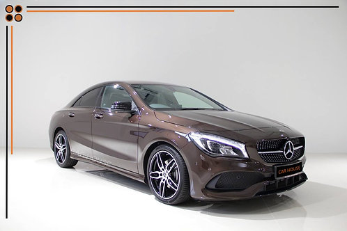 MERCEDES BENZ CLA 180 COUPE AMG LINE