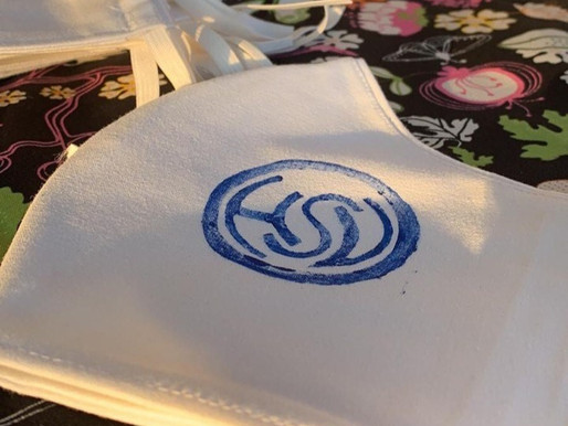 Spende für die Kinderkrebsstation - HSV-Masken für den guten Zweck
