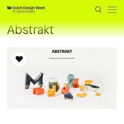 Dutch Design Week Exhibition