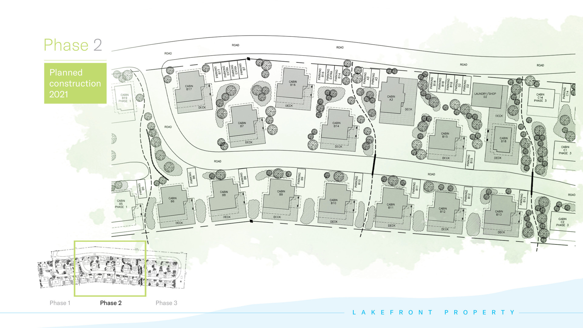 Kapasiwin Bungalows - Phase 2 planned construction 2021
