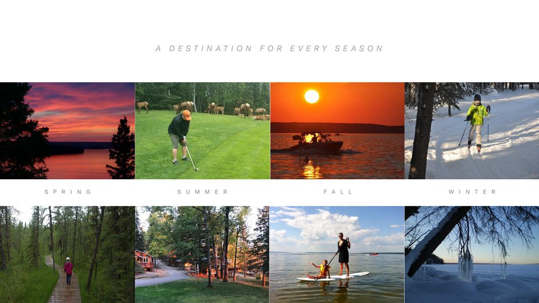 Waskesiu Lake - A Destination for Every Season
