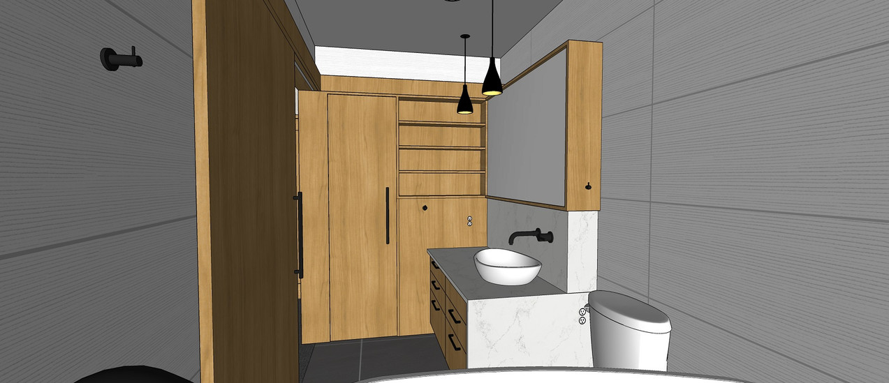 A1 A1 4. Master bath View 2- Light Optio