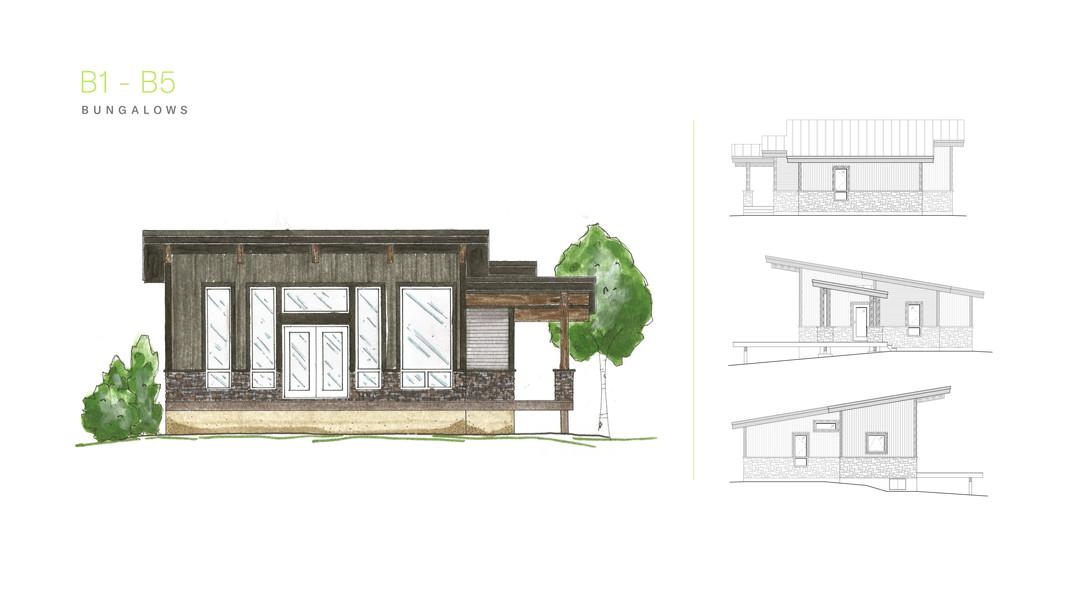 Kapasiwin Bungalows - Design for B1-B5